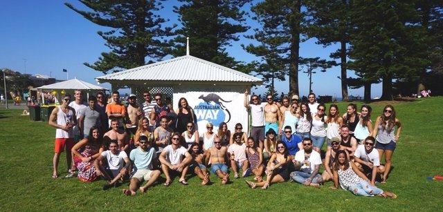 Estudiantes españoles en Australia, de Australian Way