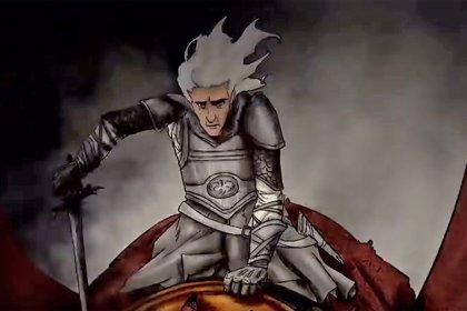 Juego de Tronos: La guerra civil de los Targaryen, en un impresionante corto animado de Danza de dragones