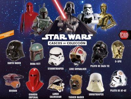 12 cascos de colección para los seguidores de Star Wars
