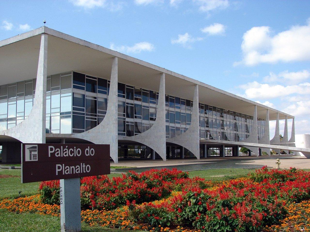 Palacio de Planalto en Brasil