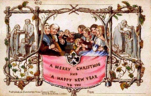 Primera felicitación navideña