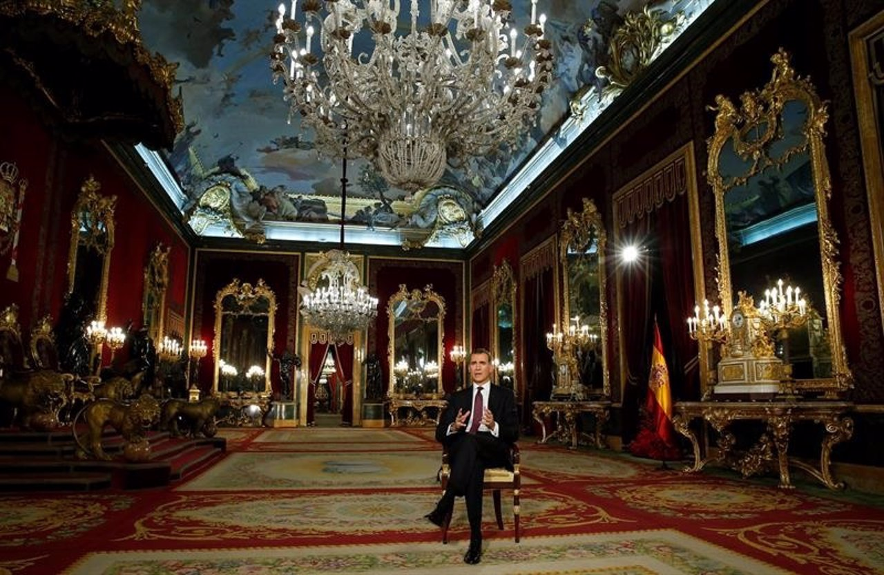 Discurso de Navidad del Rey Felipe VI 2015