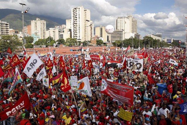 Partidarios de Maduro
