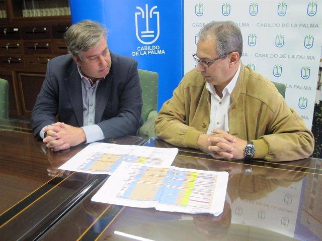 Jorge González y José Luis Delgado