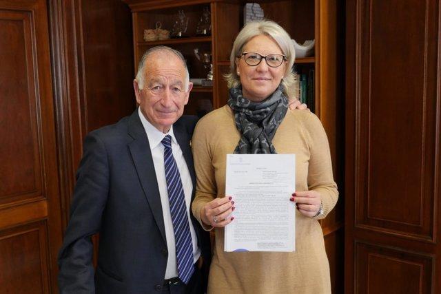 La Diputación apoya económicamente a la Asociación Trade.