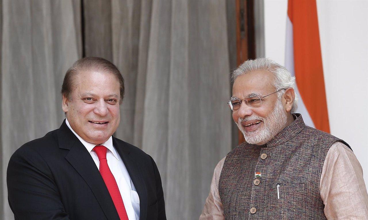 Encuentro entre Nawaz Sharif y Narendra Modi en Nueva Delhi