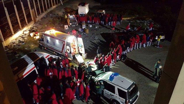 185 Personas Han Entrado En España Por  Ceuta