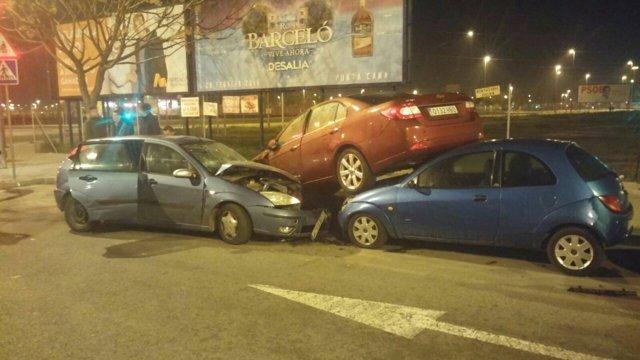 Accidente de tráfico en Pino Montano