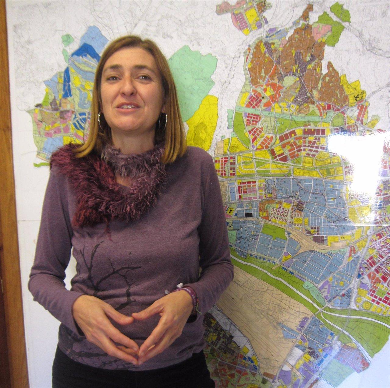 Ysabel Torralbo, portavoz de Málaga Ahora Ayuntamiento de Málaga