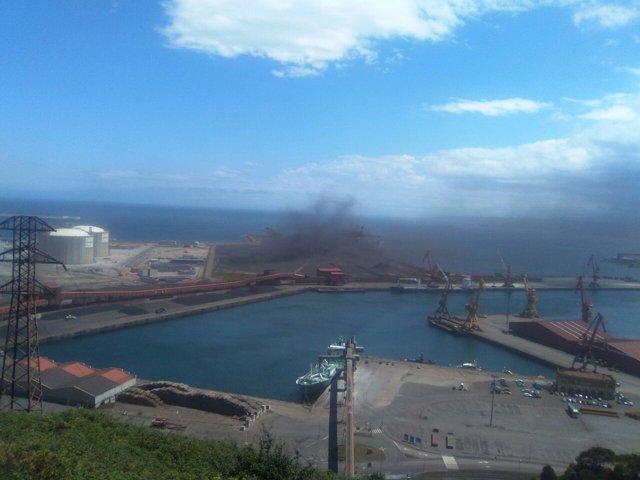 Nube de carbón.