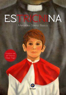 Portada libro 'Estrictina' de Mercedes Blasco