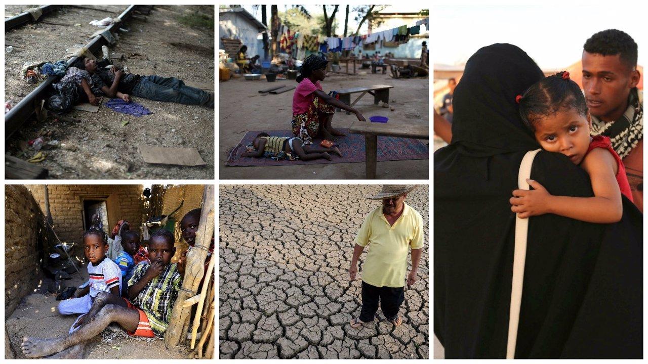 Crisis humanitarias Olvidadas en 2015