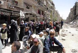 Paralizada la evacuación de milicianos del Estado Islámico de Damasco