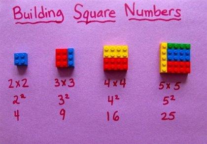 Enseña matemáticas a tus hijos con LEGO