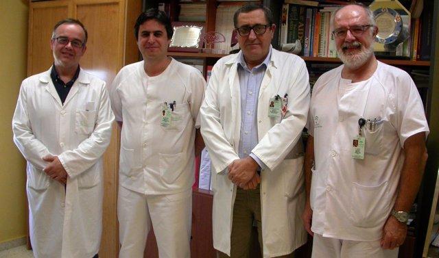 Grupo investigador de enfermedades infecciosas del Hospital de Valme de Sevilla