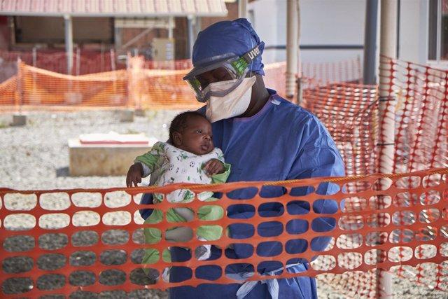 Nubia, el último paciente de ébola en Guinea.