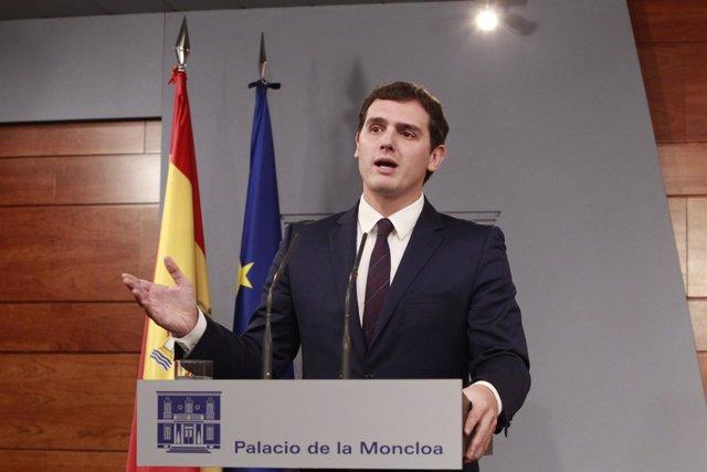 Albert Rivera en Moncloa