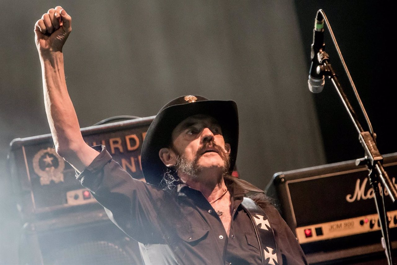 English rock band Motörhead performs live in Milan