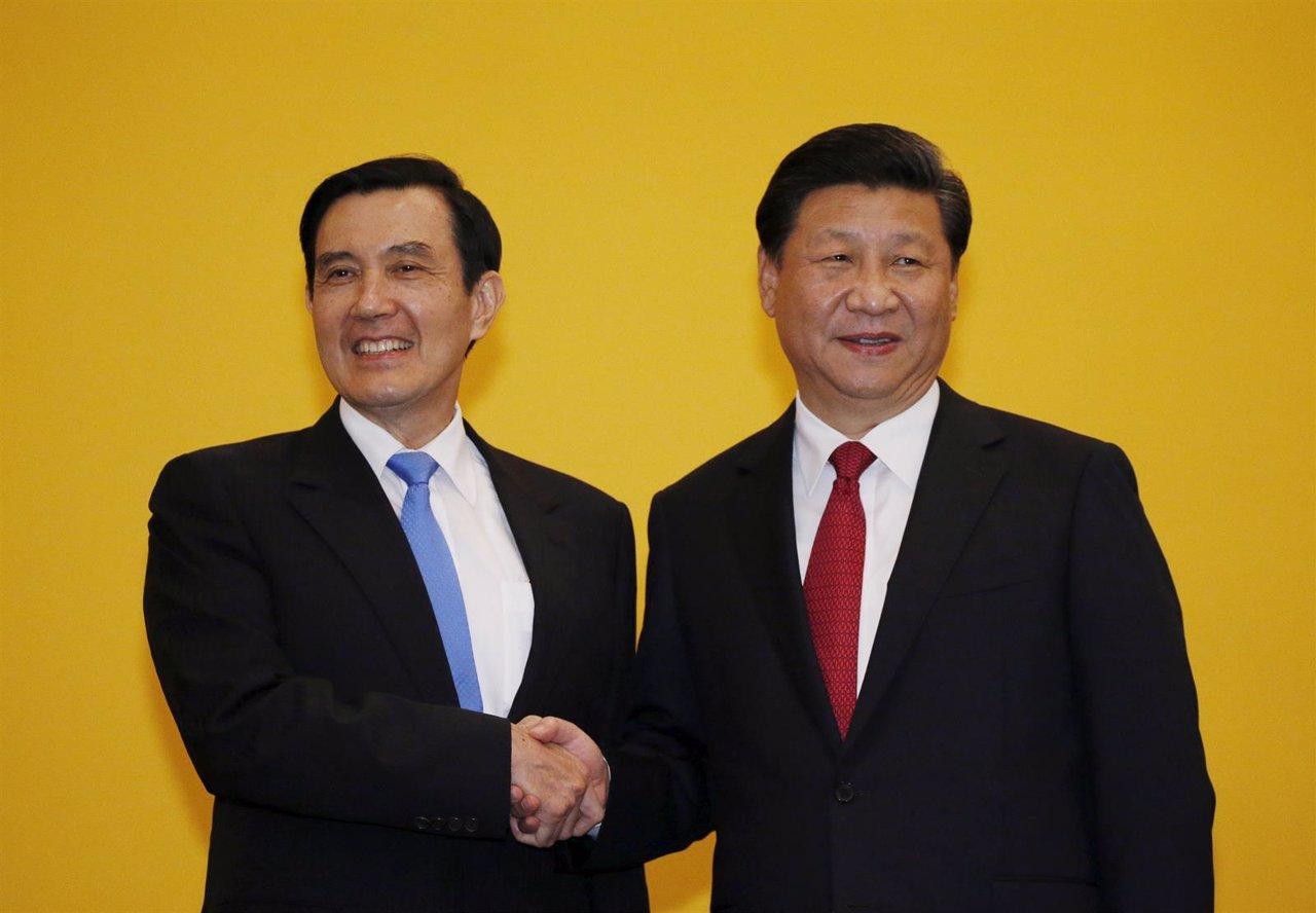 Encuentro entre el presidente chino, Xi Jinping, y el taiwanés, Ma Ying Jeou
