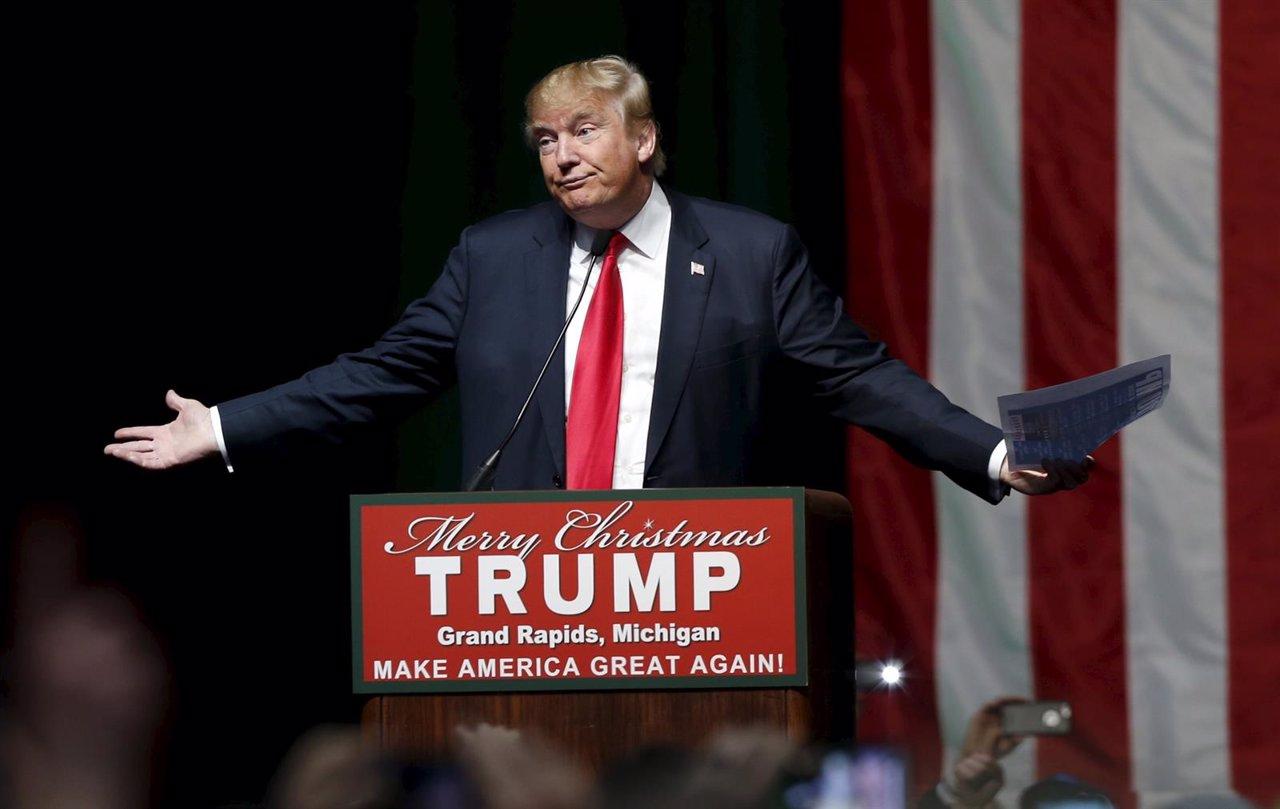 Donald Trump, precandidato en las primarias del Partido Republicano