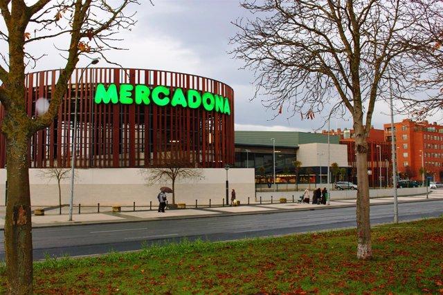 Supermercado Mercadona Vitoria