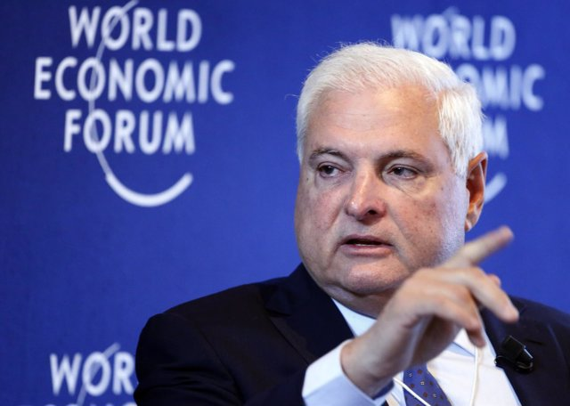 El expresidente de Panamá Ricardo Martinelli
