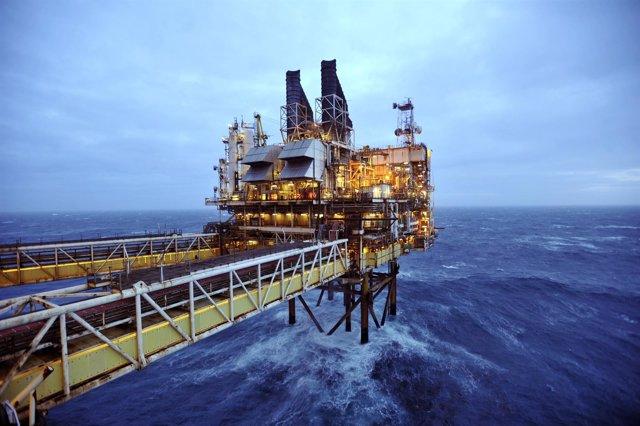 Instalaciones de BP en el Mar del Norte