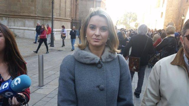 La portavoz del PP Marga Prohens