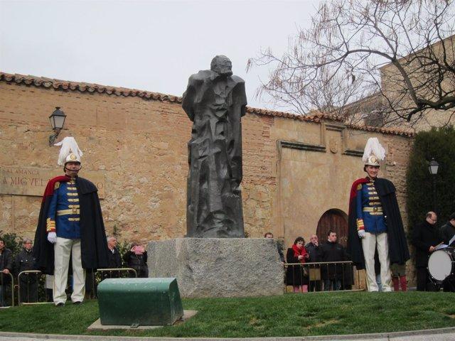 Homenaje a Unamuno en Salamanca