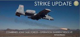 La coalición internacional liderada por EEUU bombardea 24 objetivos del Estado Islámico en Irak y Siria