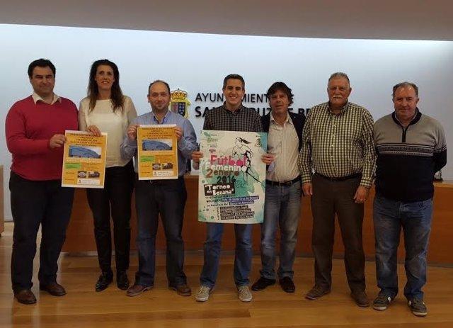 Presentación del Maratón Solidario en Santa Cruz de Bezana