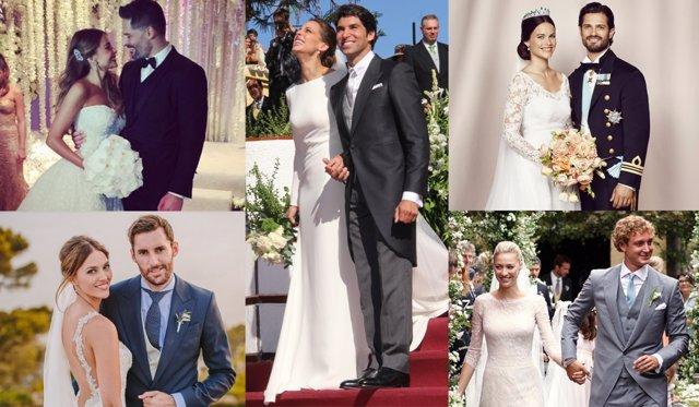 quién se ha vestido de novia el 2015?