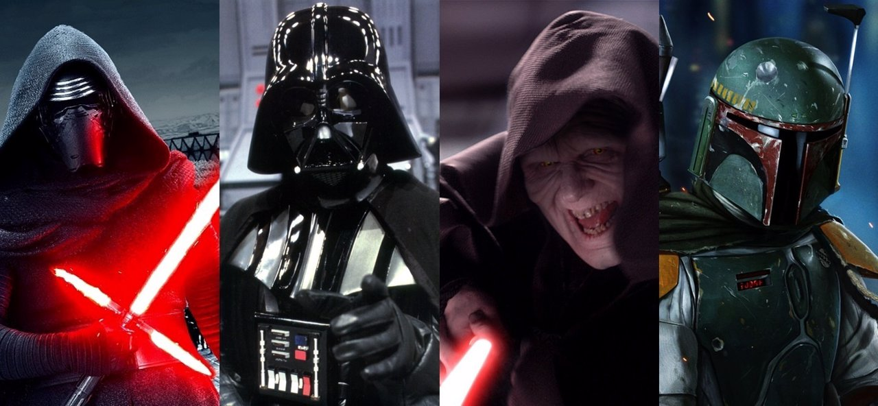 Villanos de Star Wars