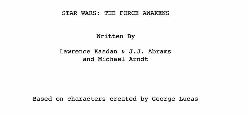 Star Wars: 6 secretos del guión filtrado de El despertar de la Fuerza