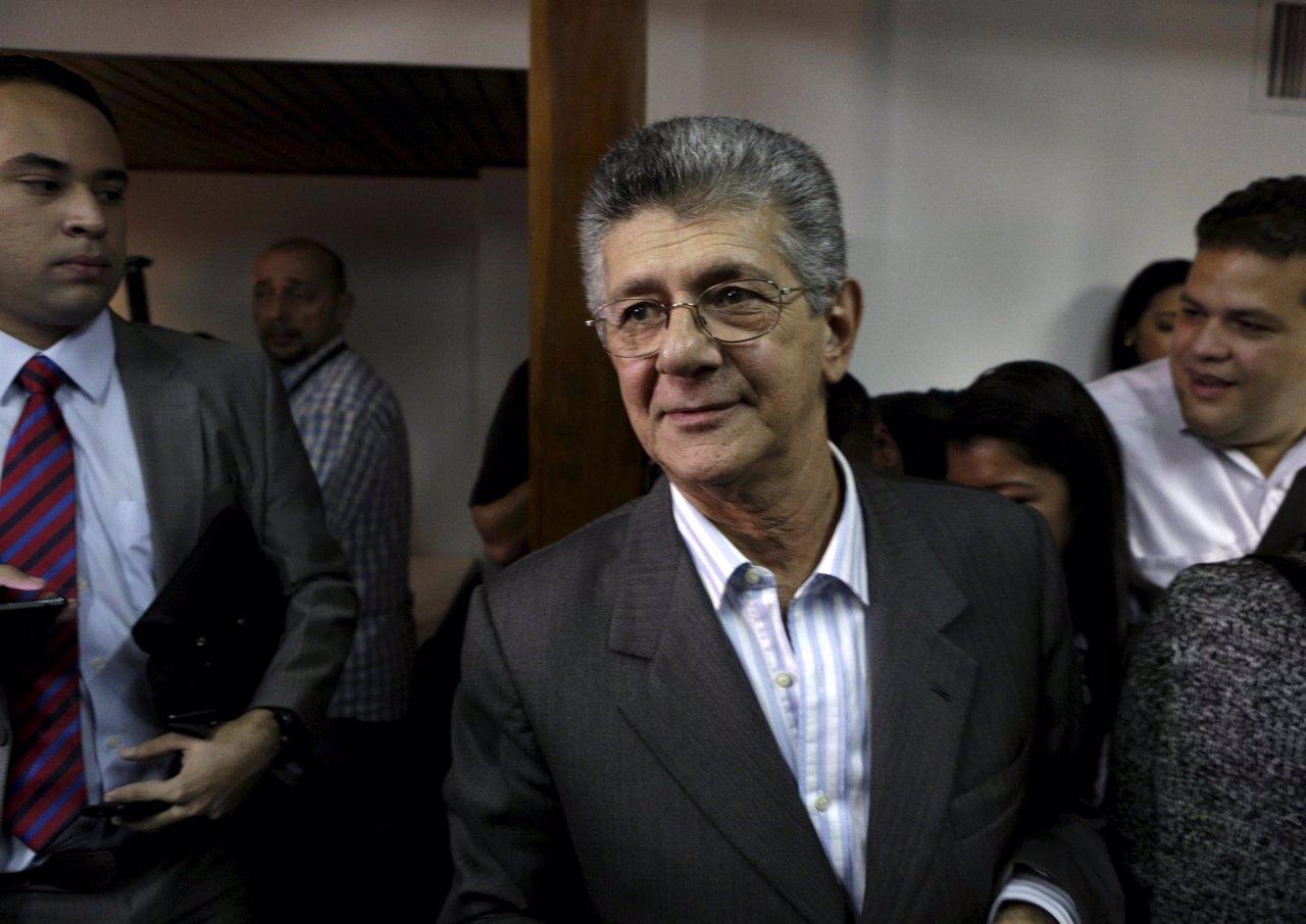 El secretario general de Acción Democrática, Ramos Allup