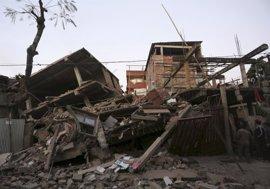 El terremoto deja al menos catorce muertos en India y Bangladesh