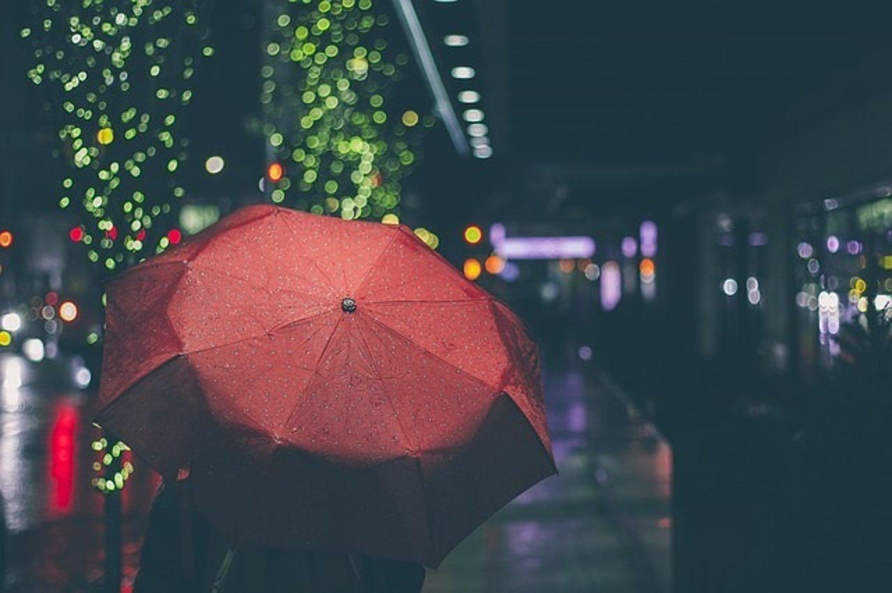 Lluvia, llover, paraguas