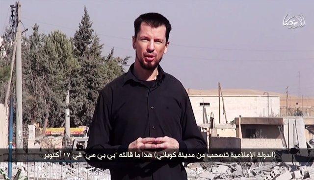 Vídeo de Estado Islámico con John Cantlie desde Kobani