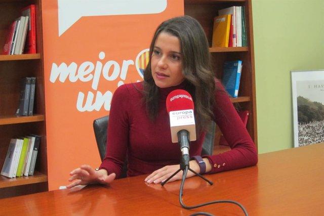 Inés Arrimadas, de C's