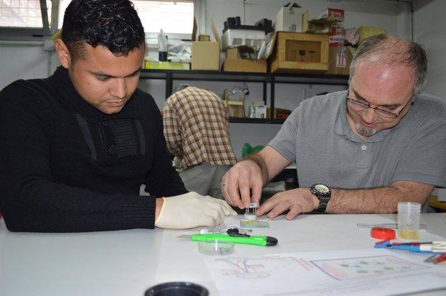 Antonio Fernandez y Juan Pablo Tafur