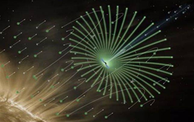 Vela eléctrica espacial
