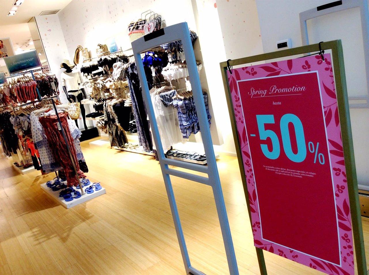 Rebajas, compras, comercio, consumo, ropa, moda, tienda, precios, IPC
