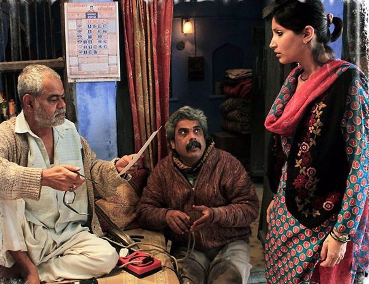 Fotograma de la película india 'Ankhon Dekhi'.