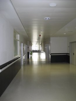 Pasillo de un hospital