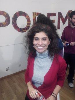 Rosana Alonso, diputada electa de Podemos por Cantabria