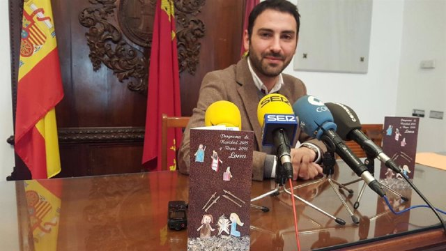 El concejal Agustín Llamas