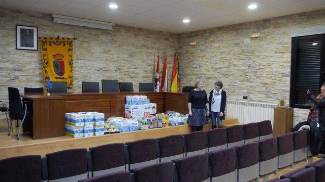 Donación para familias necesitadas