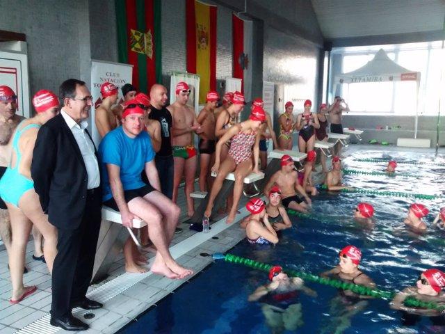 Celebración de los 100km Solidarios de Torrelavega
