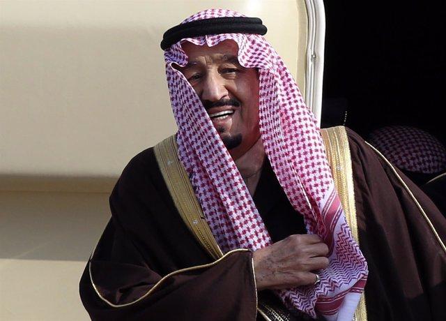 El rey de Arabia Saudí, Salmán