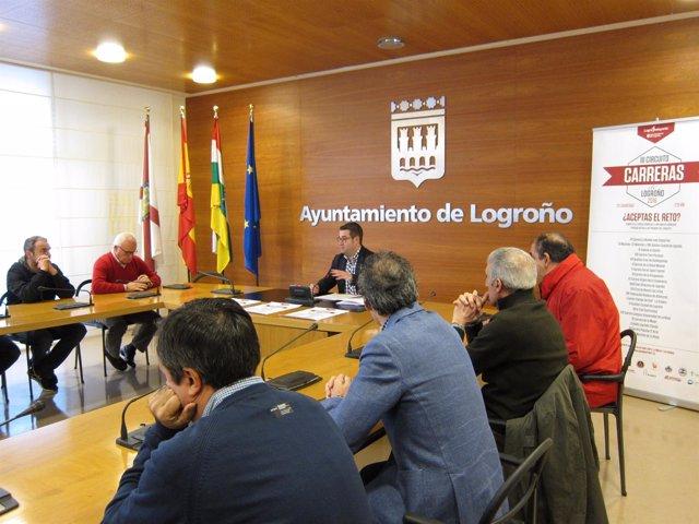 Presentación del III circuito de carreras de Logroño